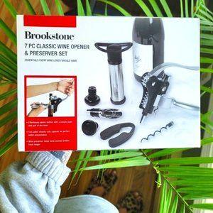 Brookstone • Wine Opener & Preserver Set